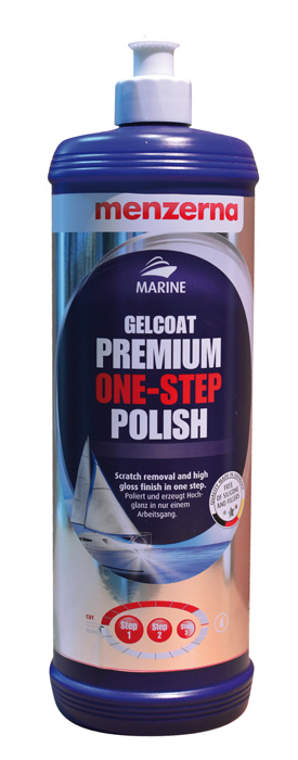 MENZERNA MARINE GELCOAT PREMIUM ONE-STEP POLISH 250ml