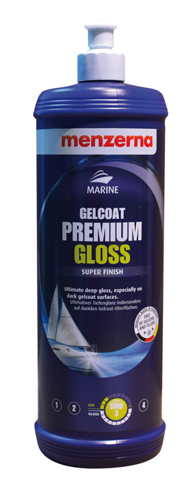 MENZERNA MARINE GELCOAT PREMIUM GLOSS 1000 ml